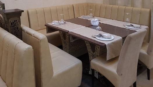 столик ресторана